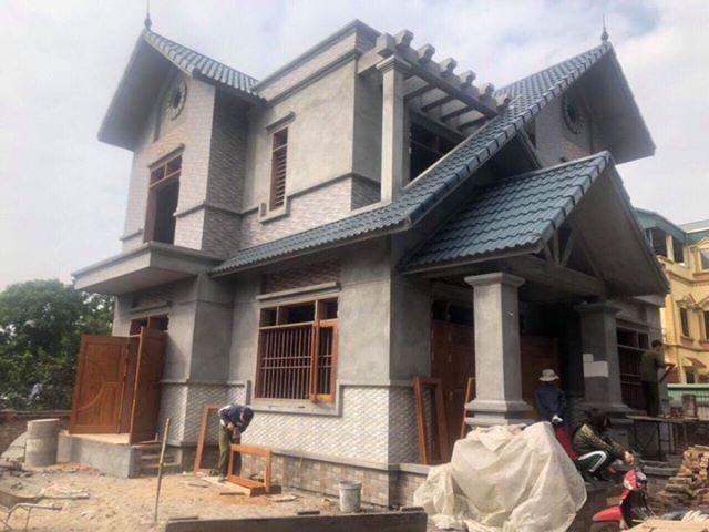 sơn nhà 2 tầng mái thái hết bao nhiêu tiền