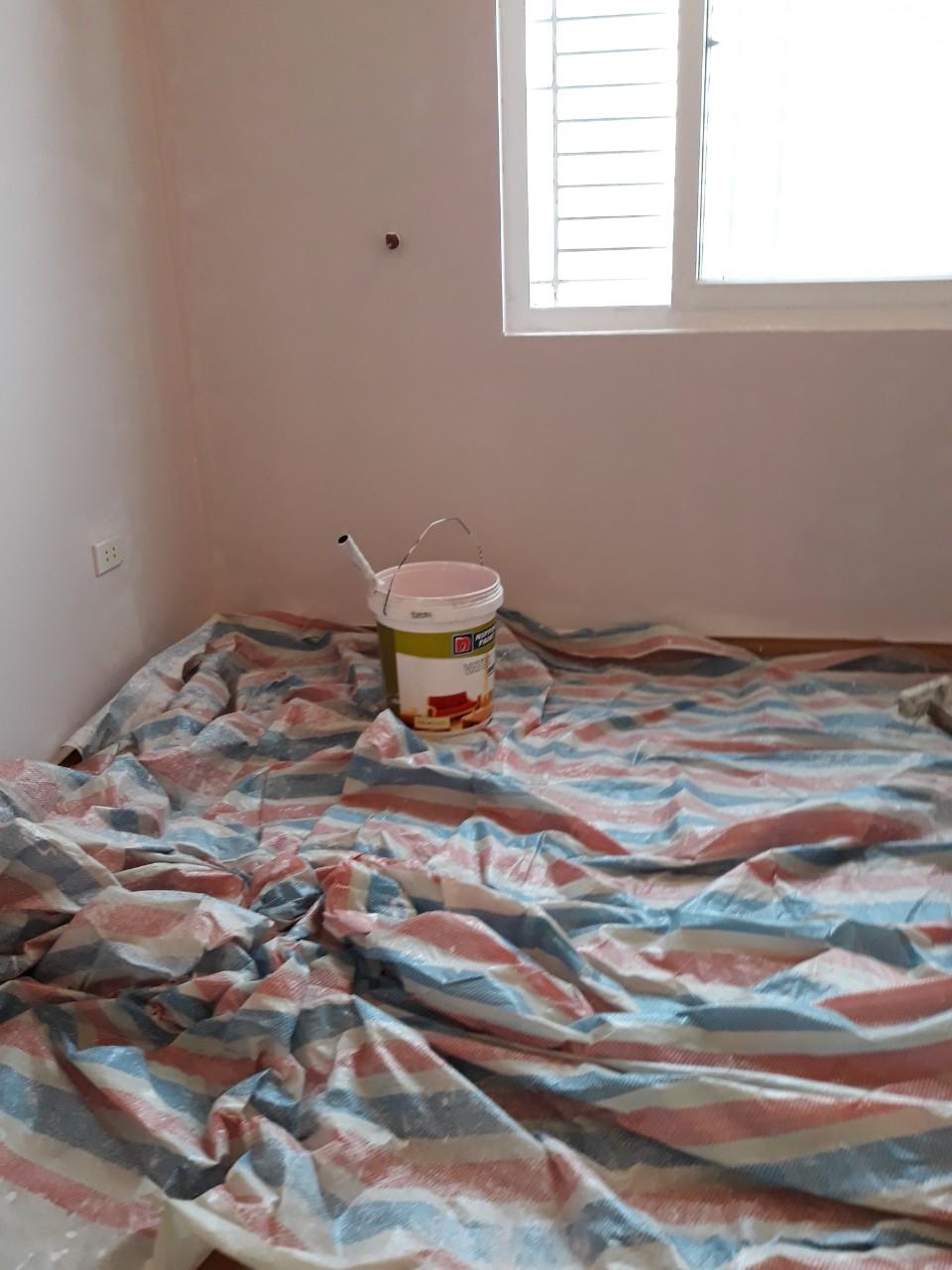 Thuê thợ sơn tường trọn gói tại Hà Nội