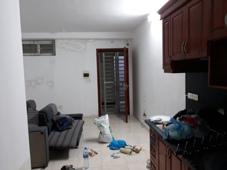 Hình ảnh sơn chung cư tại nhà dân
