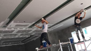Nhà mới xây nên sơn trực tiếp hay bả matit