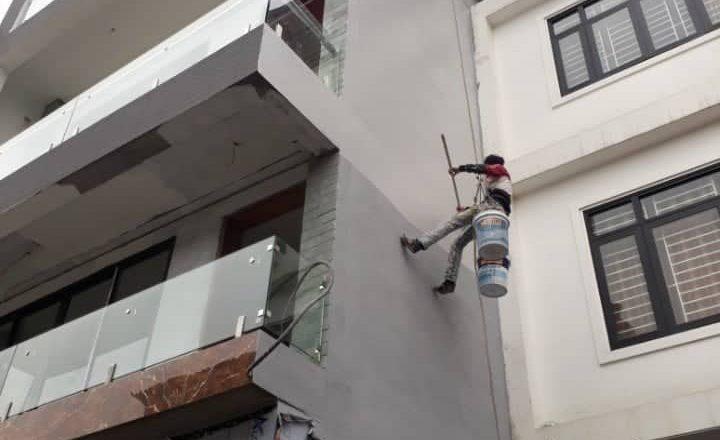Thợ đu dây mặt tiền chuyên nghiệp tại Hà Nội