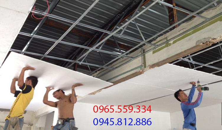 thợ làm thạch cao tại Hà Nội