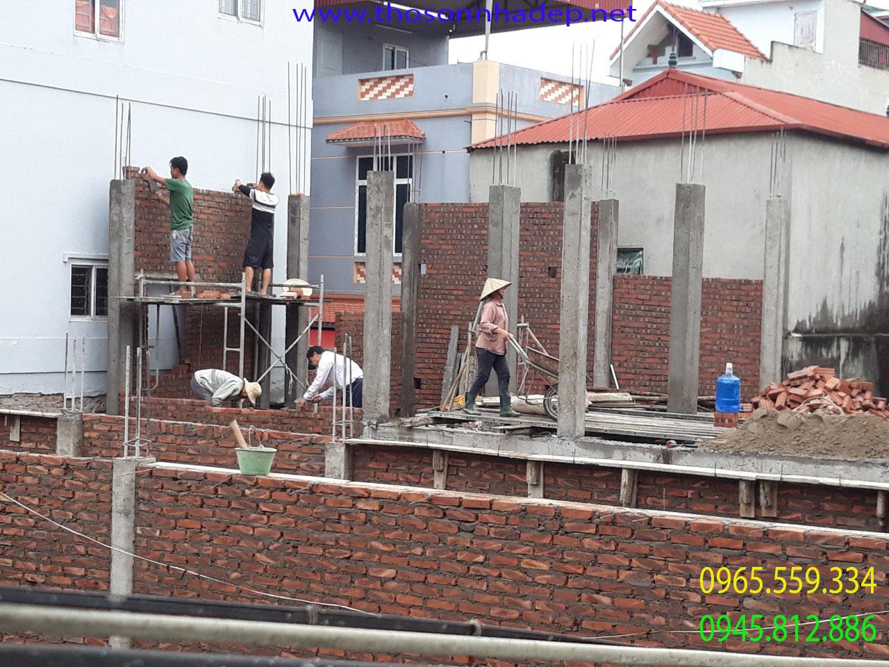 thợ xây nhà hà nội