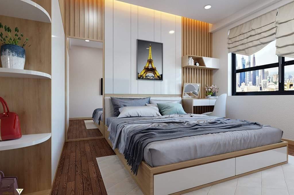 màu sơn phòng ngủ lãng mạn