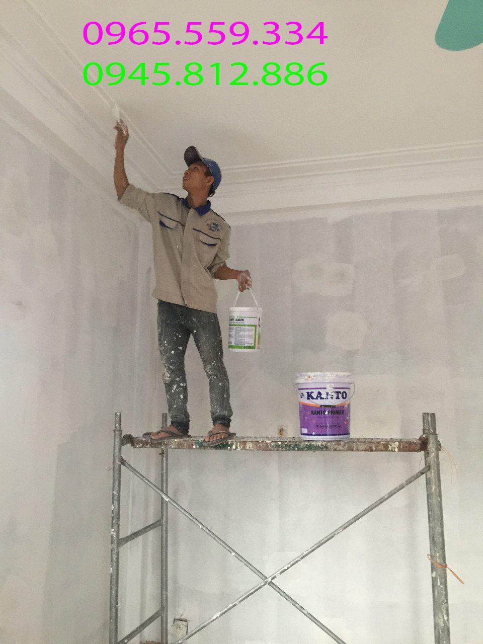 thợ sơn hàng đầu tại hà nội
