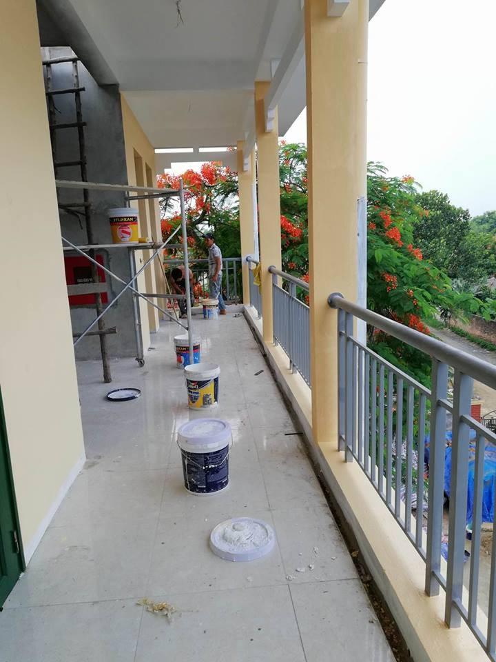 báo giá sơn nhà