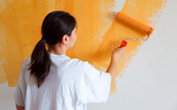 sơn lại nhà dễ dàng