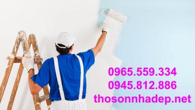 Lý do chọn nghề sơn sửa nhà