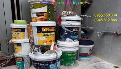 gọi thợ sơn nhà