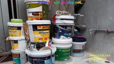 chuẩn bị bề mặt trước khi sơn