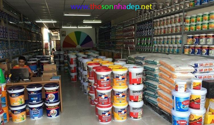 sơn lại nhà cần cạo sơn cũ không