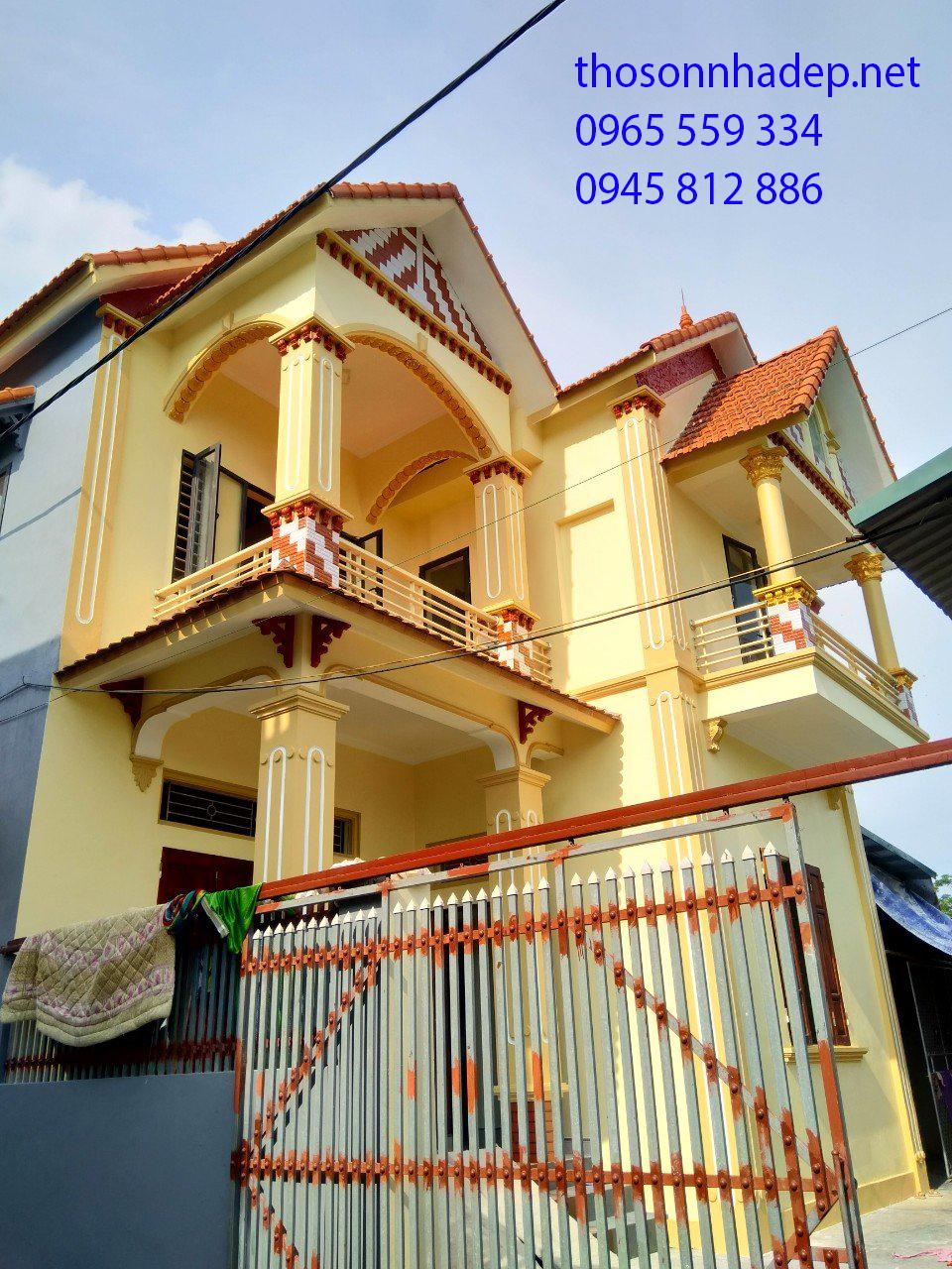 thợ sơn nhà mới ở đây
