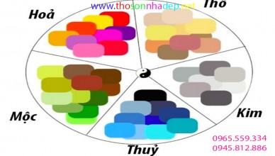 xu hướng chọn gam màu sơn