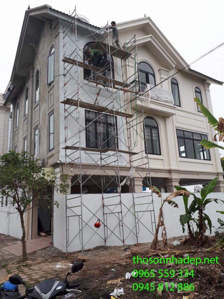 đội thợ sơn nhà uy tín chuyên nghiệp