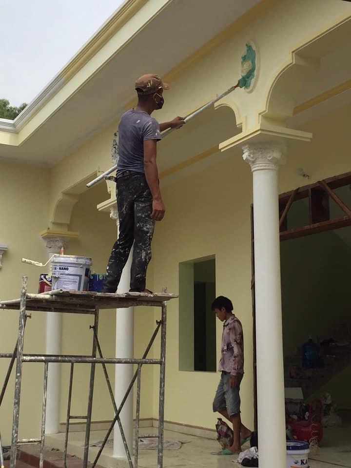 sơn lại nhà có phải cạo lớp sơn cũ không