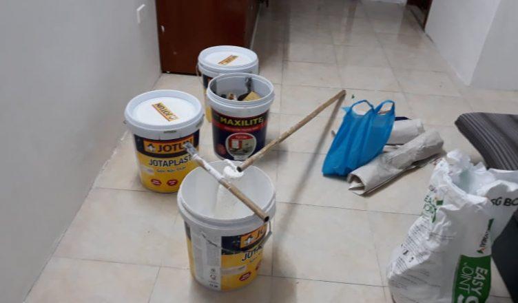 Thuê thợ sơn nhà có dọn dẹp sạch sẽ không?