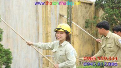 Thợ quét vôi ve chuyên nghiệp tại Hà Nội
